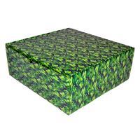 """Подарочная коробка """"камуфляж"""" 25*25*10 см_0"""